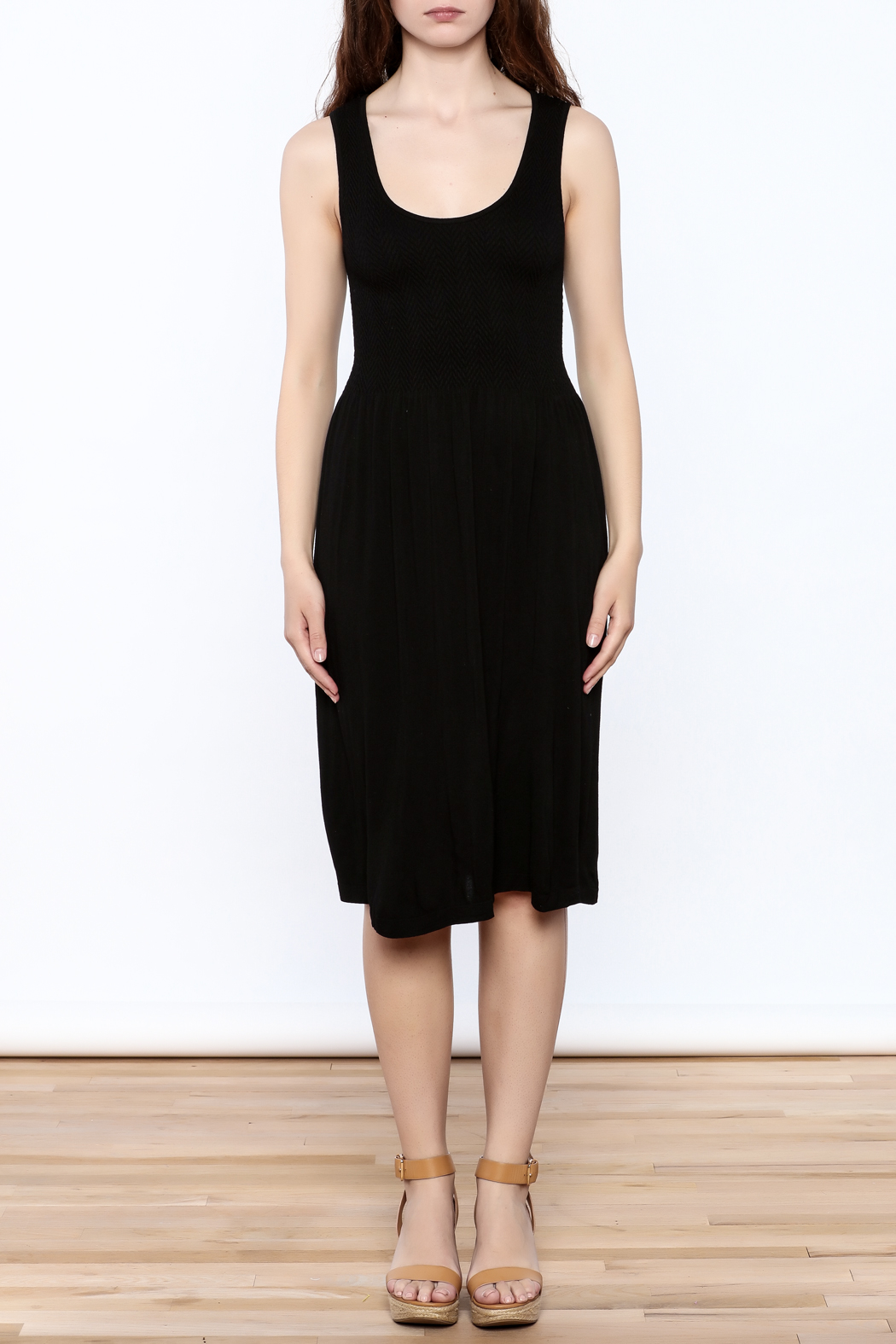 Elietian Sleevless Dress - Side Cropped Image