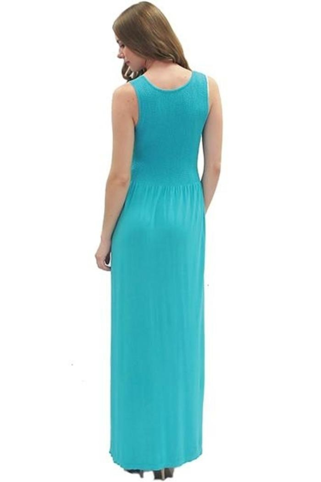 Elietian Wide Strap Maxi - Side Cropped Image