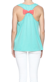 Elise Anchor Bow Top - Back cropped