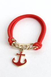 Elise Anchor Bracelet - Product Mini Image