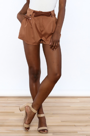 Elise Belted Kerra Shorts - Product Mini Image