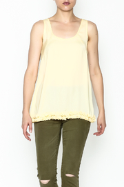 Elise Yellow Racer Back Top - Product Mini Image