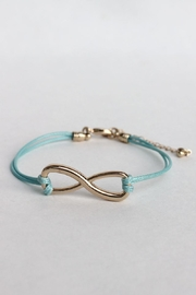 Elise Doublecord Infinity Bracelet - Front cropped
