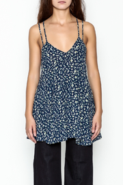 Elise Flowy Floral Top - Front full body