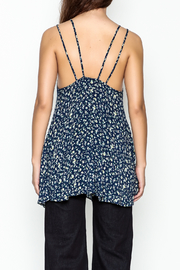 Elise Flowy Floral Top - Back cropped