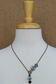 Elise Handcast Victorian Necklace - Front full body