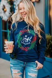 Elise Joyful Wreath Tee - Product Mini Image