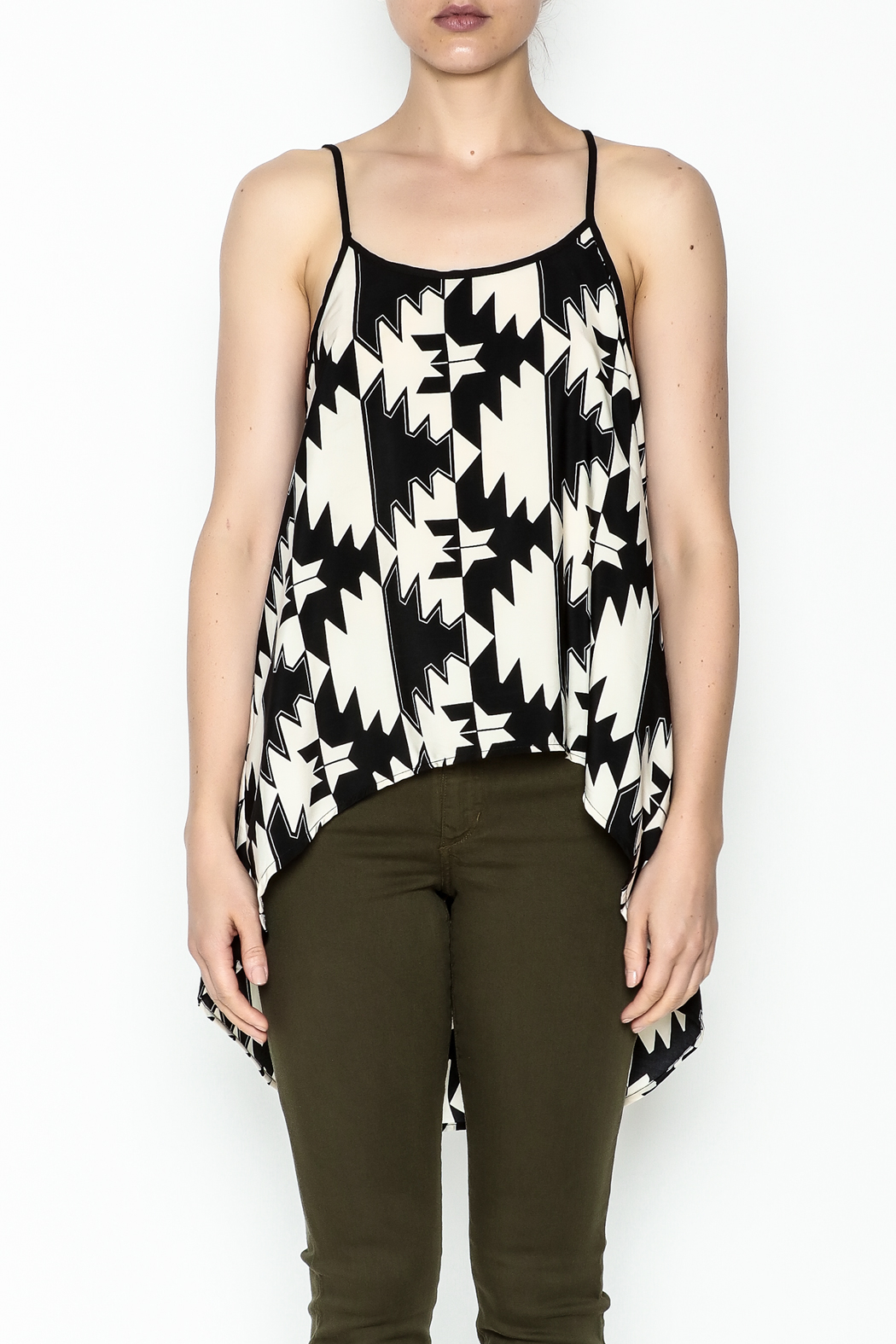 Elise Multicolor Party Top - Front Full Image