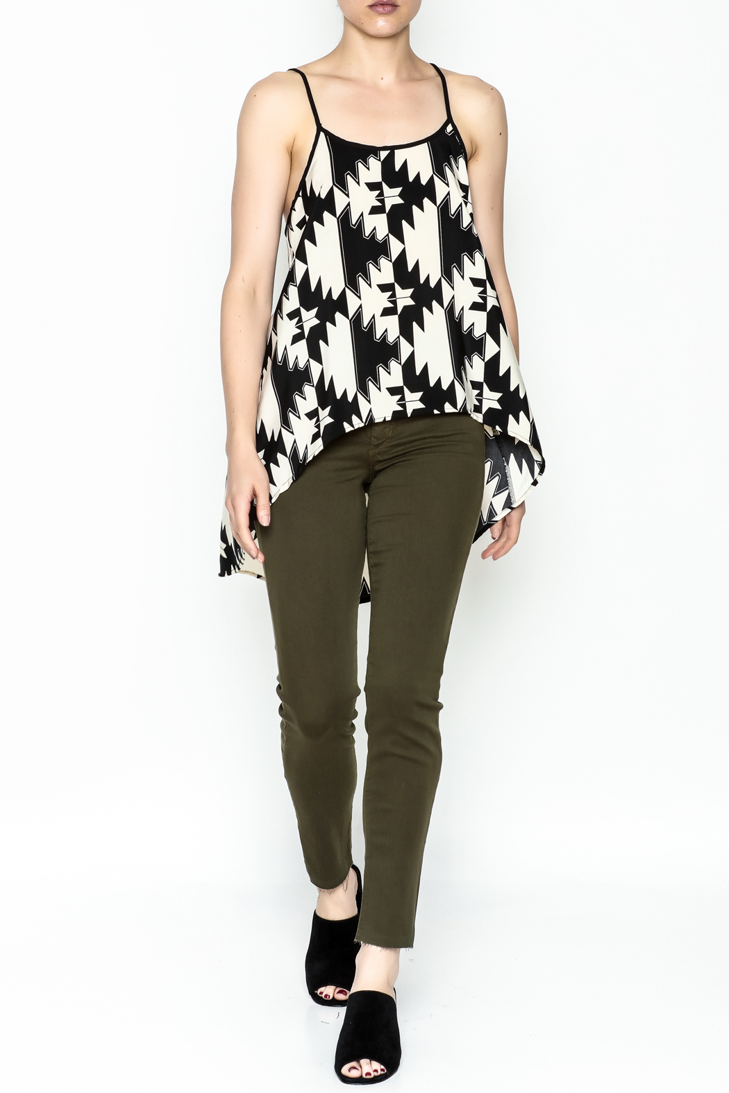 Elise Multicolor Party Top - Side Cropped Image
