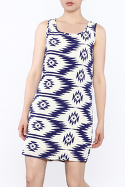 Elise Printed Shift Dress - Product Mini Image