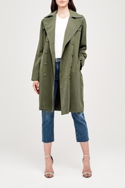 L'Agence Elise Trench Jacket - Product Mini Image