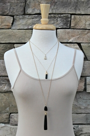 Elise Triple Layered Necklace - Product Mini Image