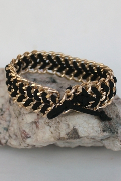 Elise M Braided Link Bracelet - Product List Image