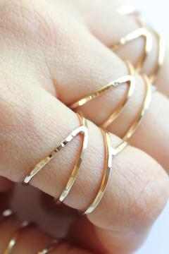 Shoptiques Product: Gold Siren Ring
