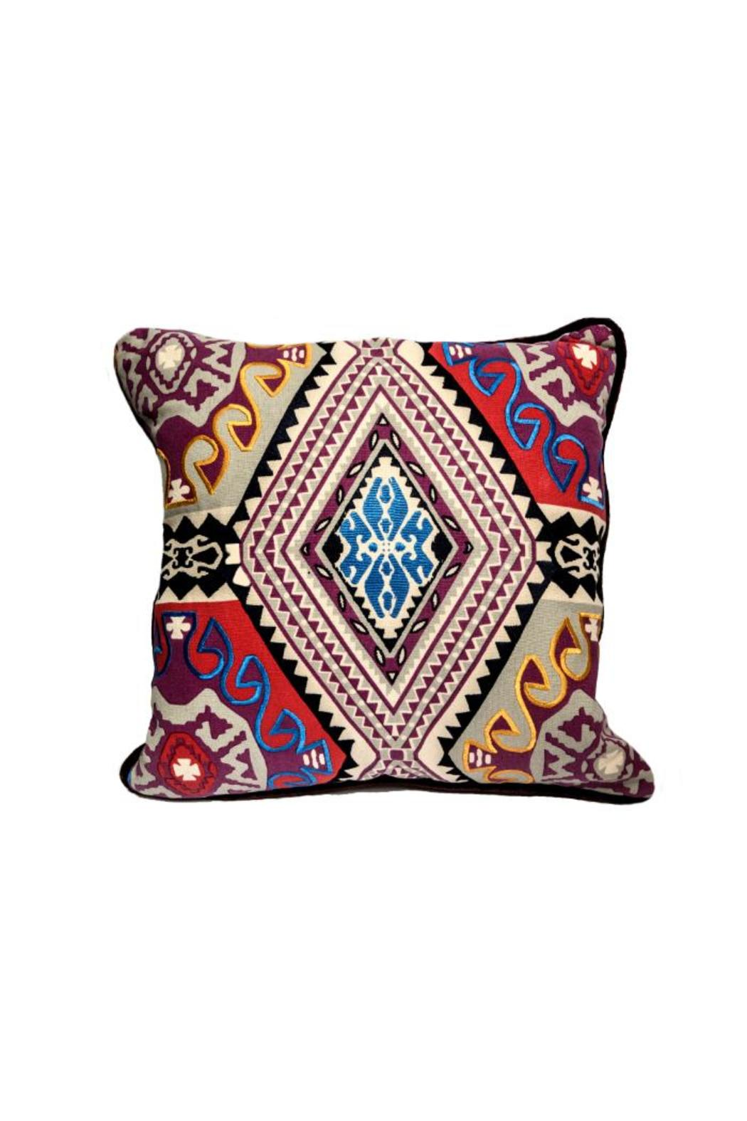 ELISKA Bespoke Cushion Multicoloured - Main Image