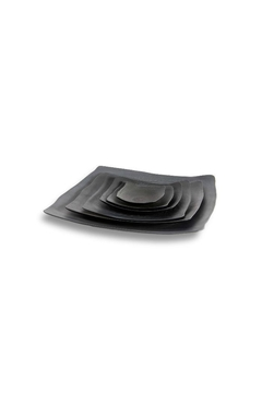 Shoptiques Product: Black Serving Platters (Extra Large)