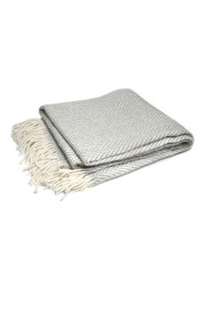 Shoptiques Product: Boucle Mohair Throw