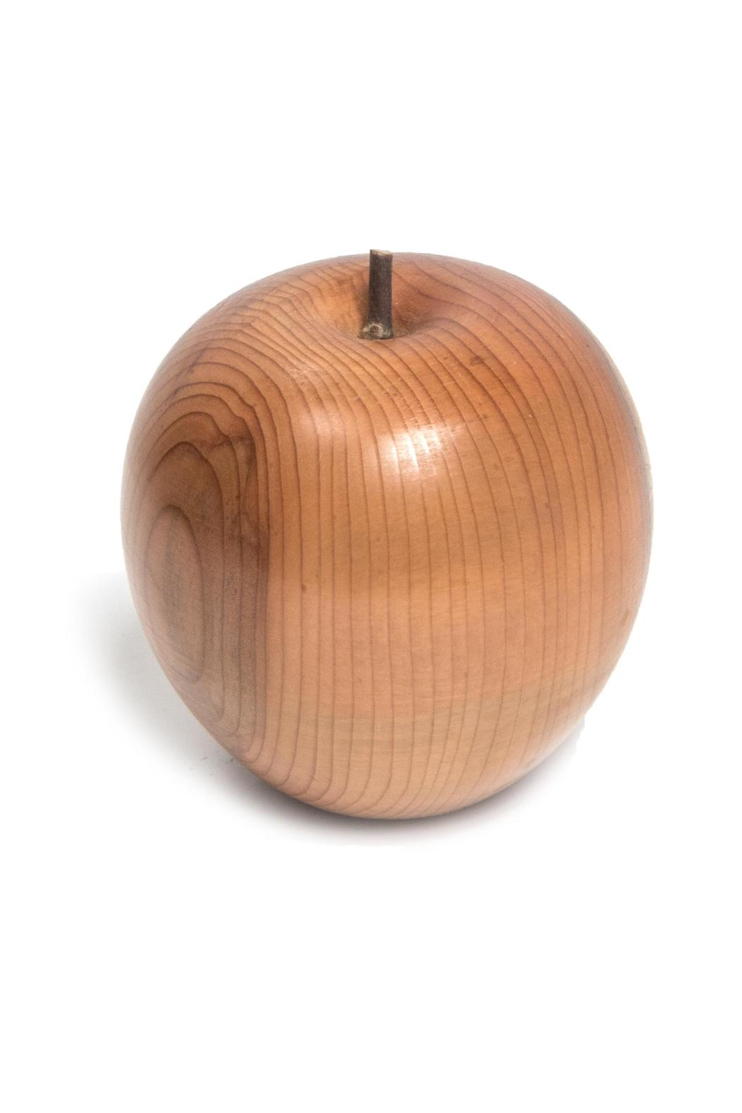 ELISKA Decorative Wooden Apple - Main Image