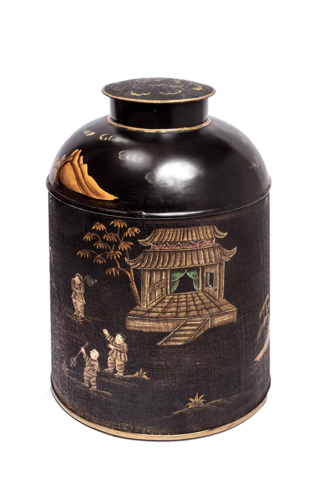 ELISKA Handpainted Chinese Caddy - Main Image