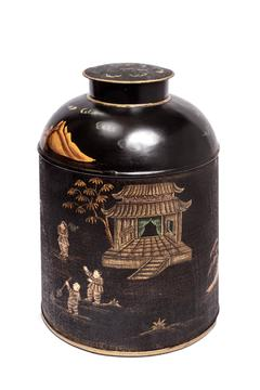 ELISKA Handpainted Chinese Caddy - Product List Image