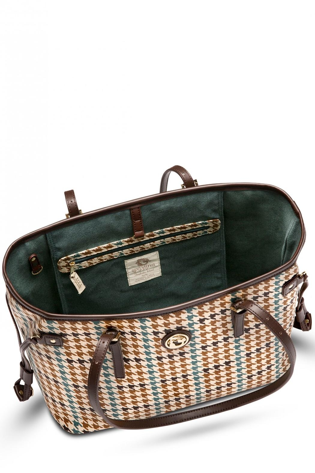 Spartina 449 Eliza Jetsetter Tote - Side Cropped Image