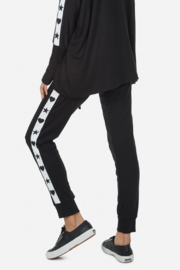 Lauren Moshi  Eliza Love Skull Tuxedo Pant - Side cropped