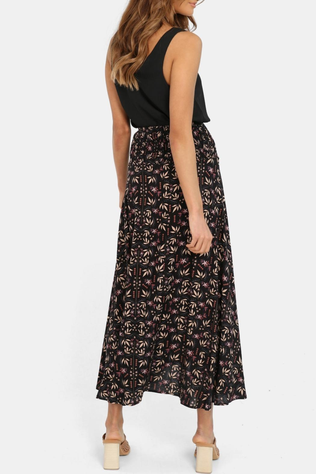 Lost in Lunar Eliza Maxi Skirt - Side Cropped Image