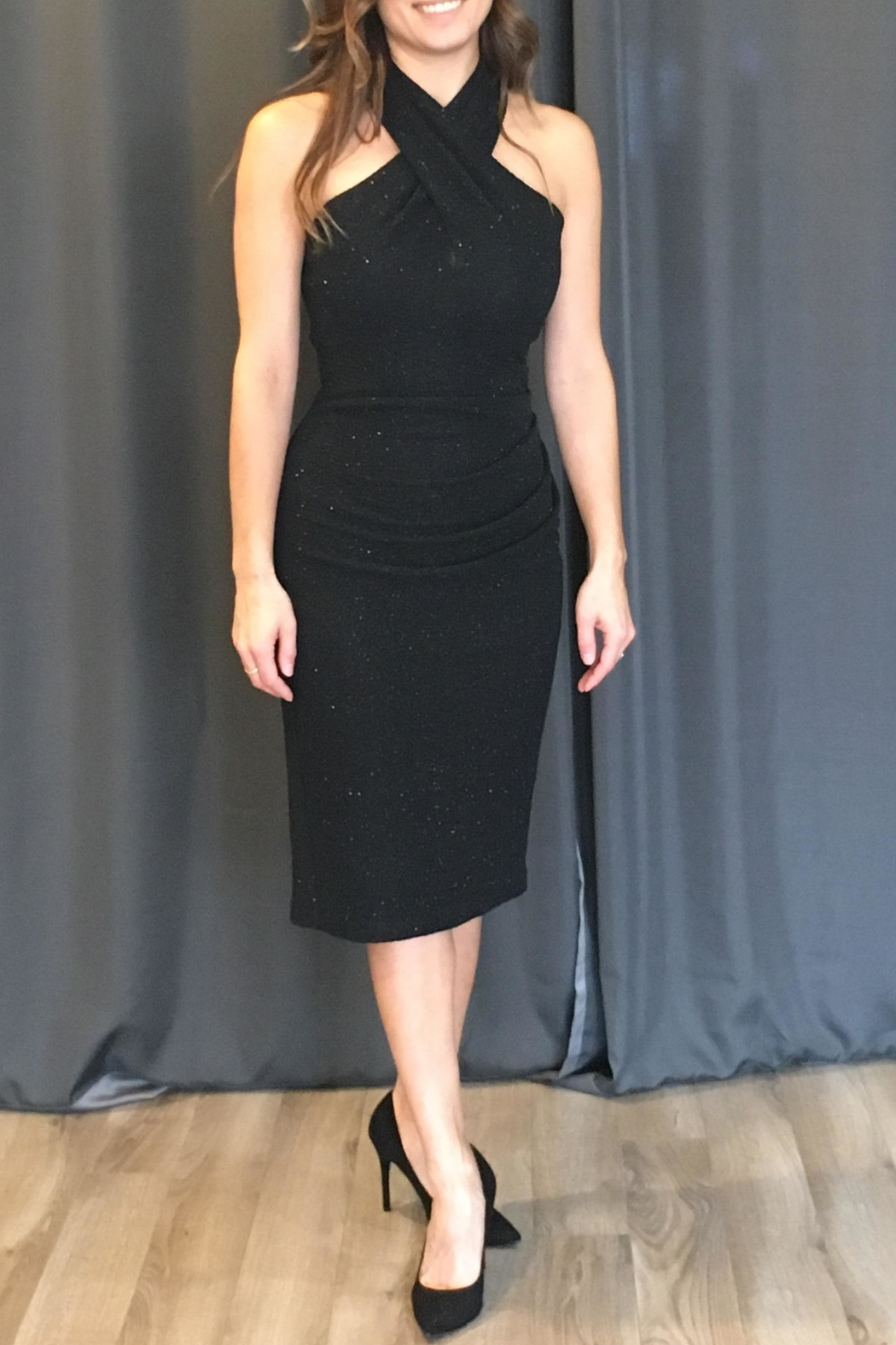 0f13df4d944 Eliza J Cross Front Dress from Connecticut by Dress Boutique of ...