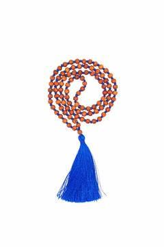Shoptiques Product: Cobalt Tassel Necklace