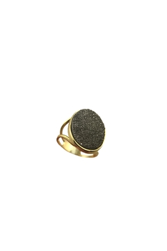 Shoptiques Product: Titanium Druzy Ring