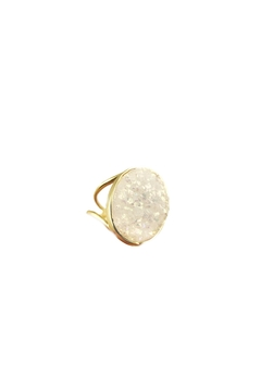 Shoptiques Product: White Druzy Ring