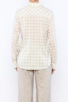 Shoptiques Product: Plaid Button Down