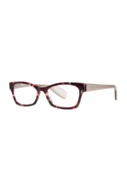 scojo ELIZABETH STREET BURGUNDY BLING/SILVER +1.50 SCOJO READING GLASSES - Product Mini Image