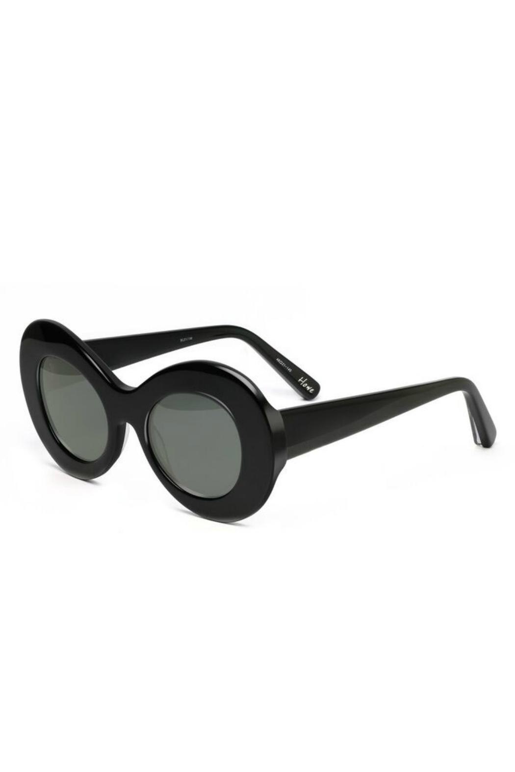 Elizabeth & James Howe Round Sunglasses - Front Full Image