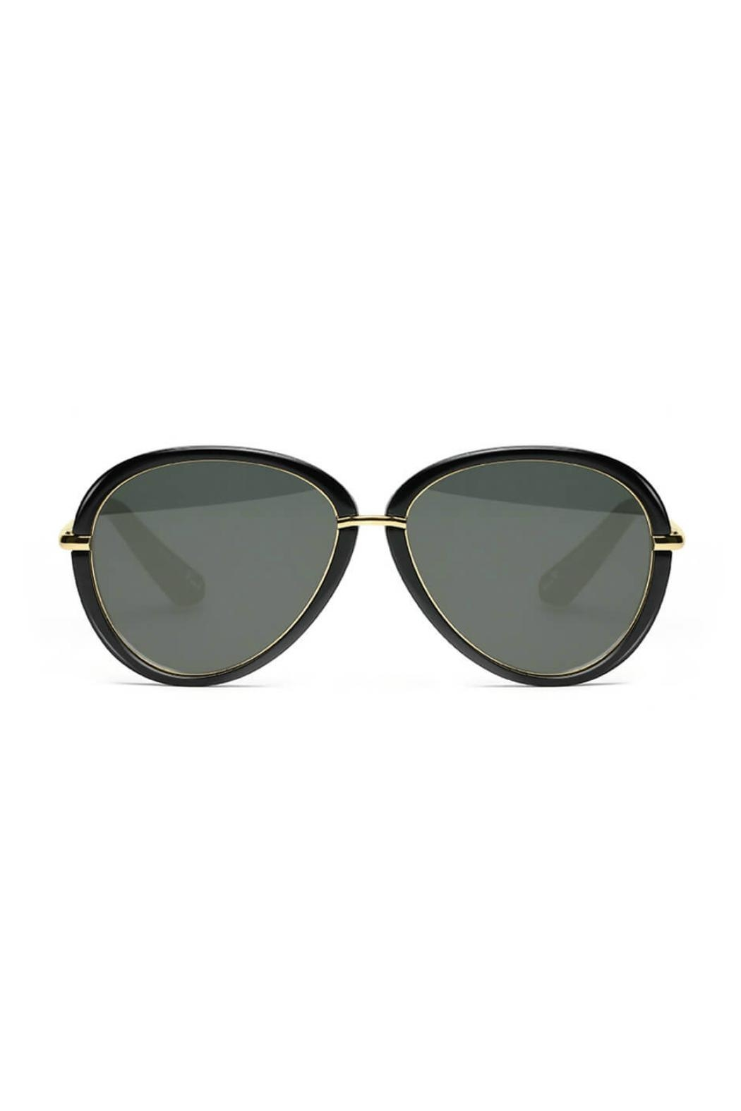 Elizabeth & James Reed Aviator Sunglasses - Front Cropped Image