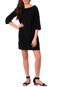 Shoptiques Product: Black Off Shoulder Dress