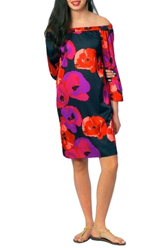 Shoptiques Product: Black Poppy Dress