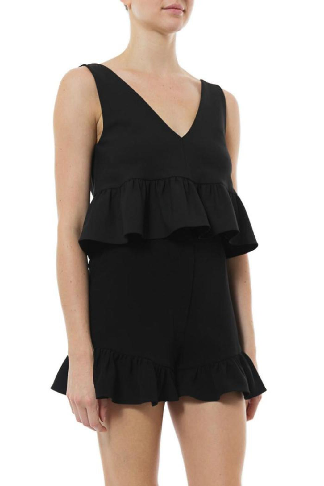 Elizabeth & James Analinne Ruffle Crop - Back Cropped Image