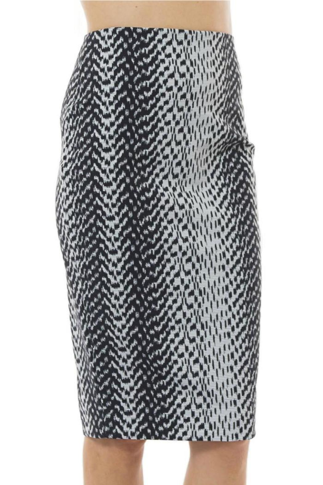 Elizabeth & James Ikat Aisling Skirt - Side Cropped Image
