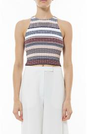 Elizabeth & James Stripe Racerback Tank - Product Mini Image