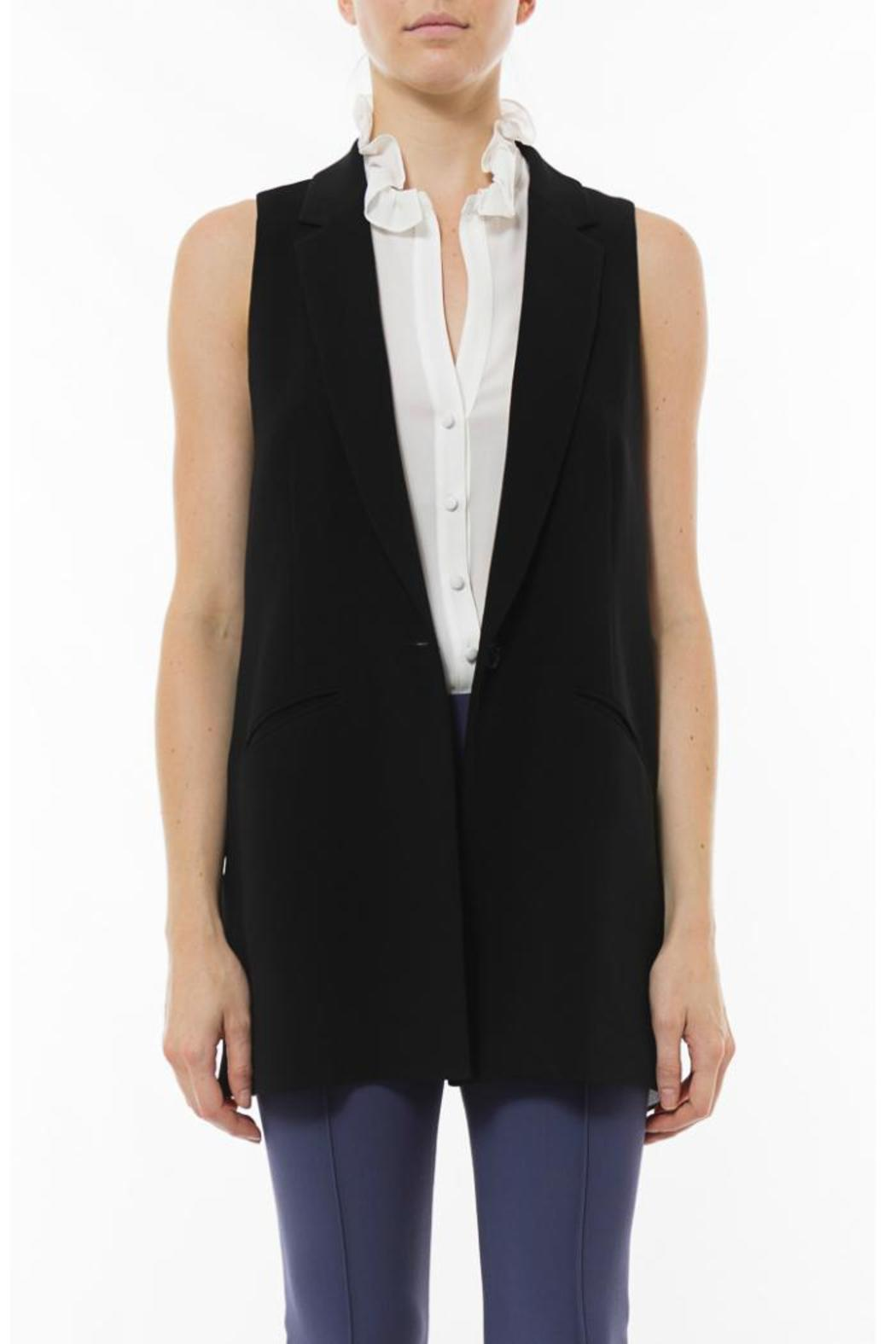 Elizabeth & James Tailored Garnet Vest - Main Image