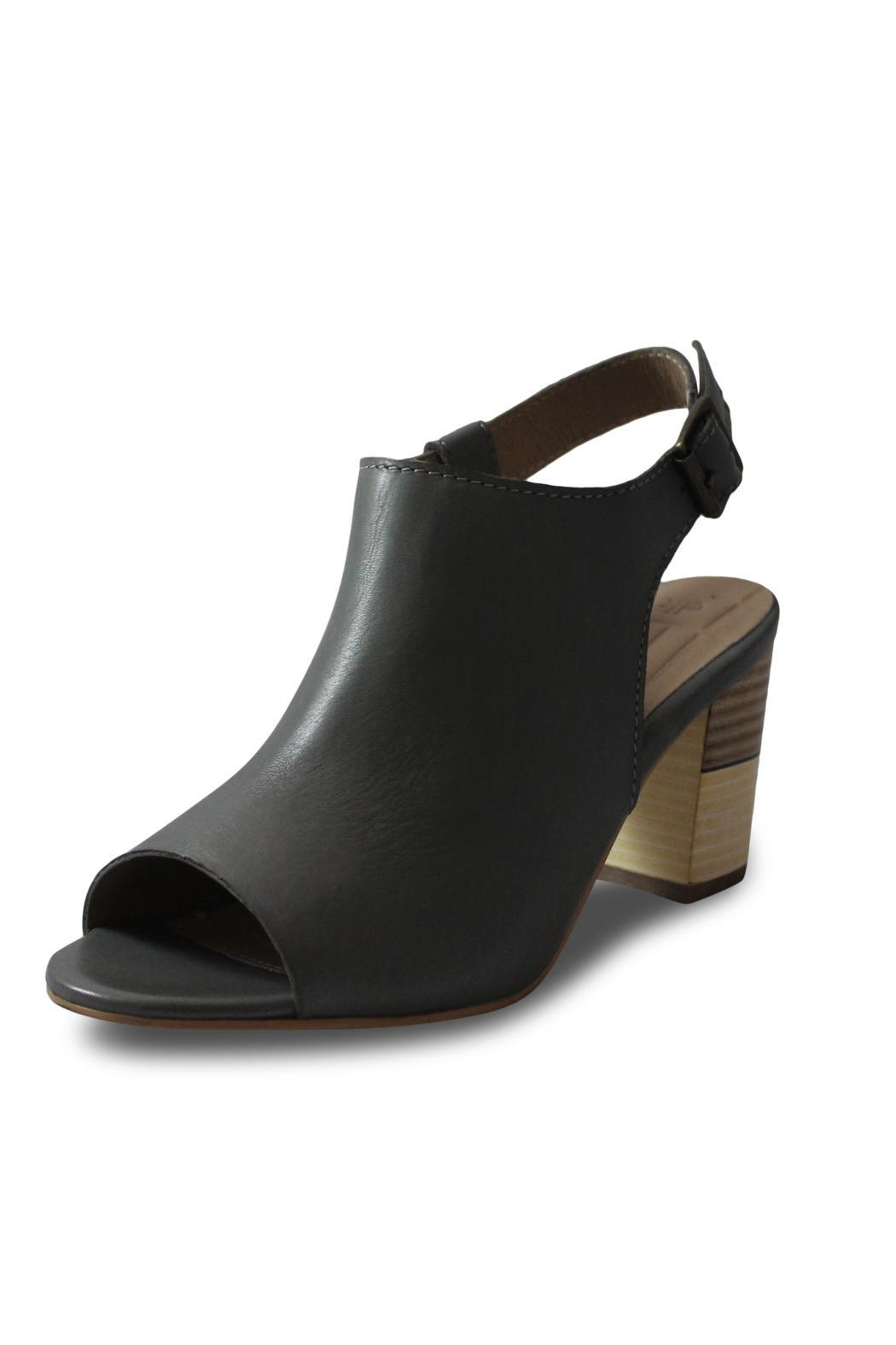 Elk Medium Grey Heel - Front Full Image