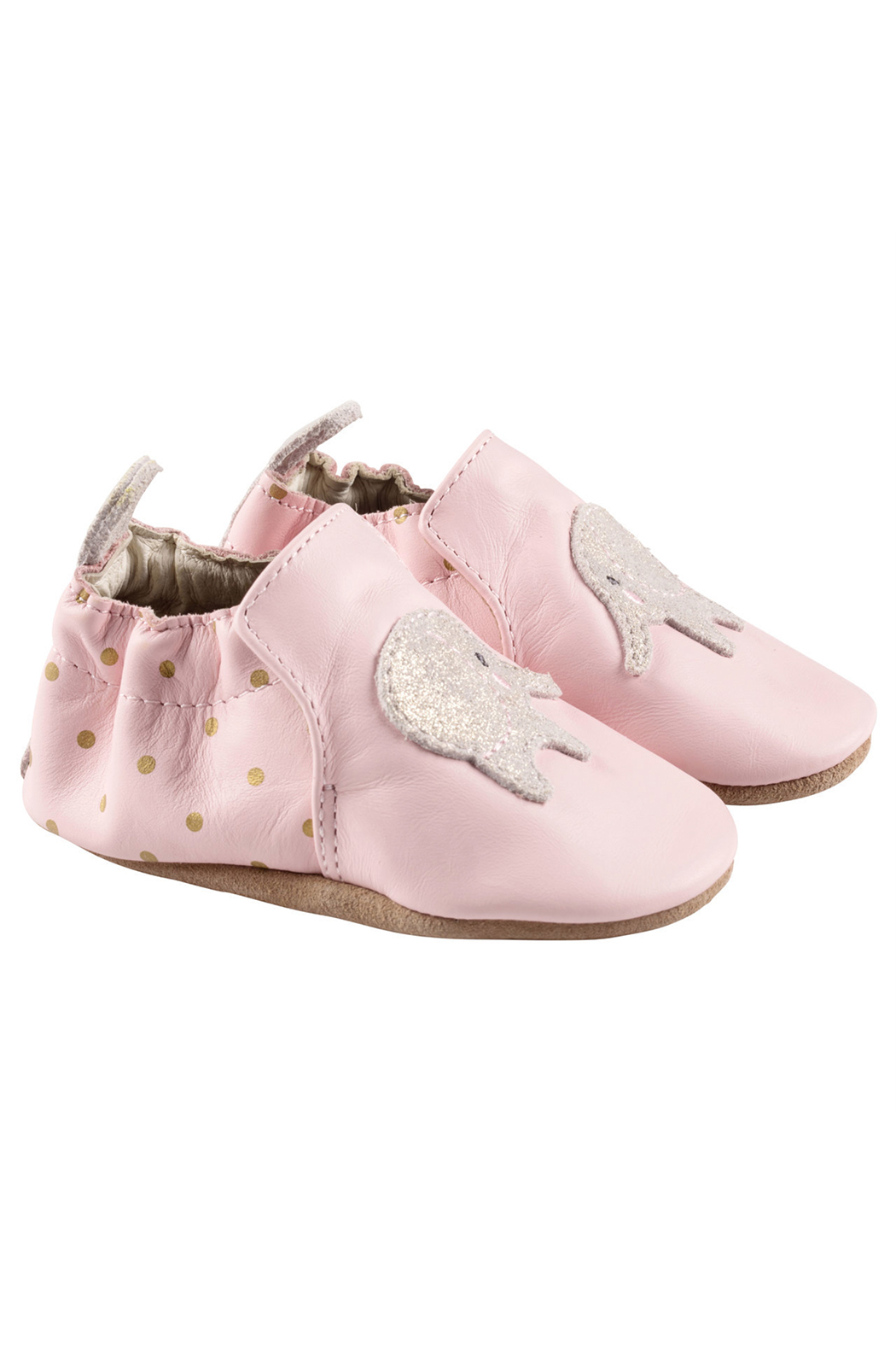 Robeez Ella Elephant Soft Soles - Front Cropped Image