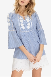 Tribal Ella Embroidered Blouse - Product Mini Image