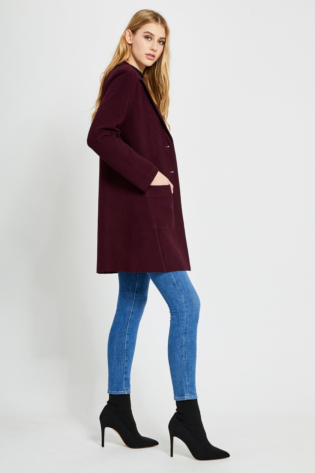 Gentle Fawn Ella Fitted Coat - Front Full Image