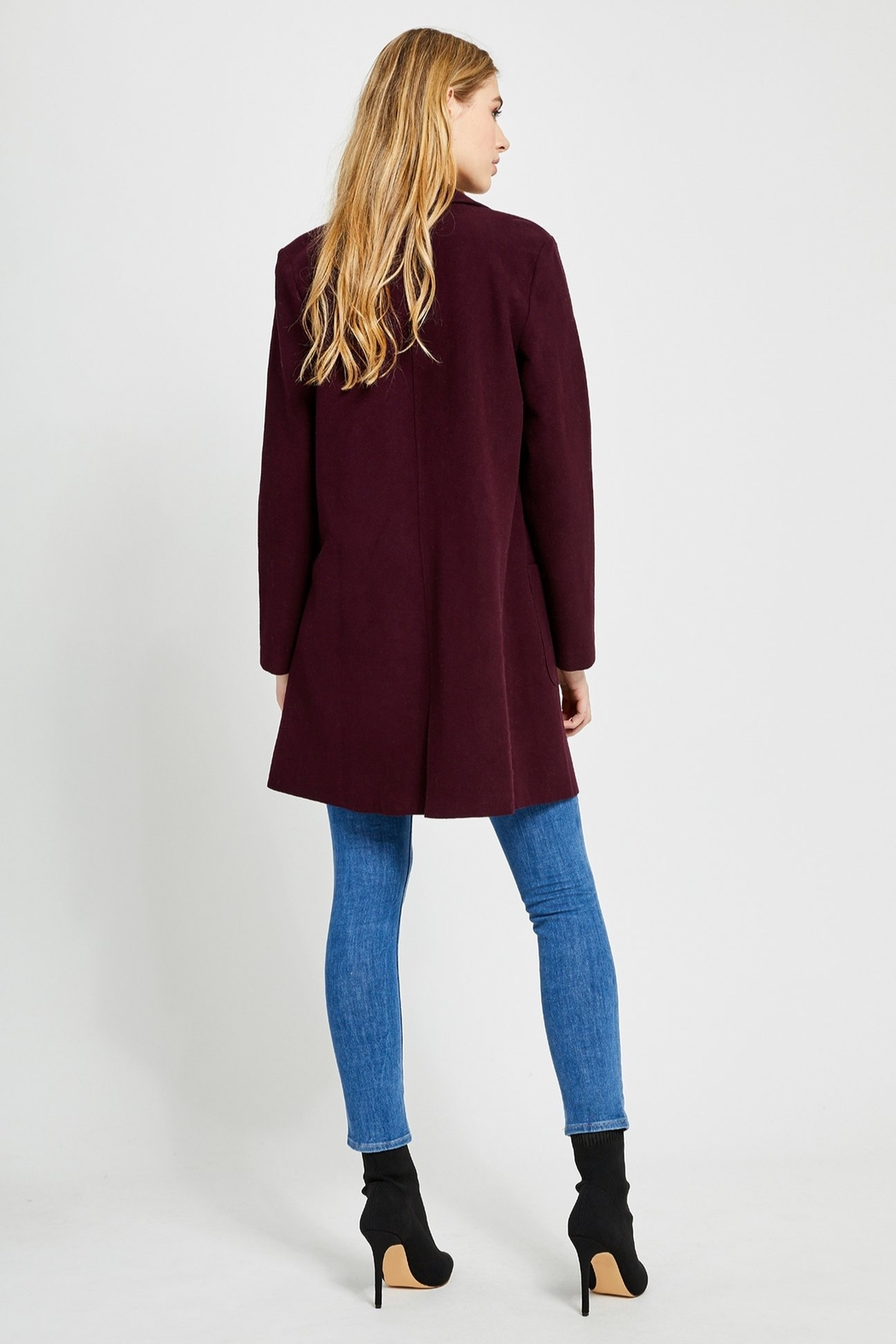 Gentle Fawn Ella Fitted Coat - Side Cropped Image