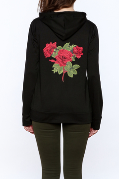 Shoptiques Product: Embroidered Hooded Sweater