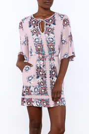 Ella Moss Floral Kimono Dress - Product Mini Image