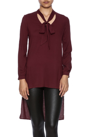 Ella Moss High Low Tie Tunic - Product Mini Image