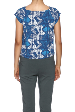 Shoptiques Product: Printed Cropped Tee